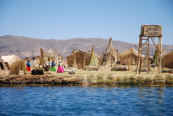 Peru - schwimmende Insel