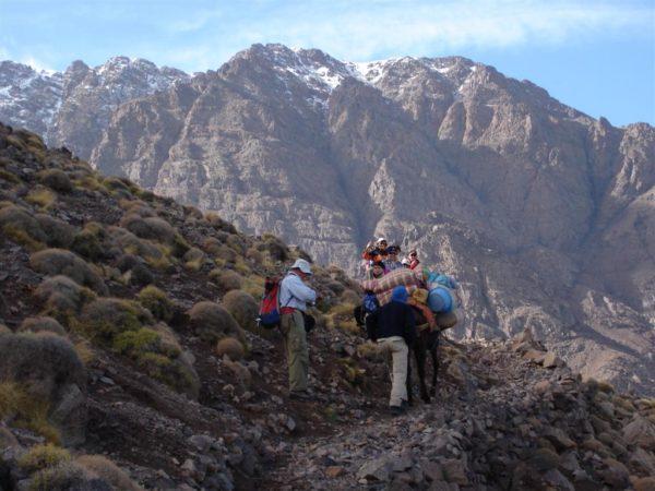 Marokko Trekking mit Uschi Profanter