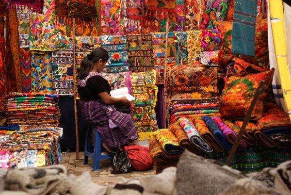 Guatemala Reise - Markt in Chichicastenango