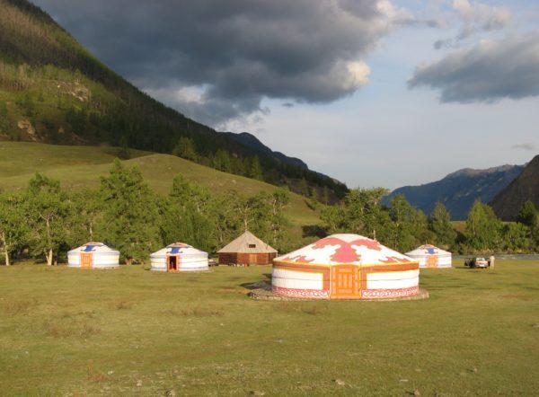 Mongolei - Jurte